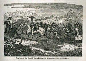 British flee Pensacola